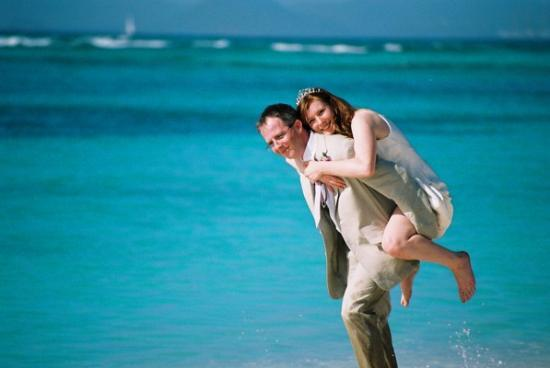 Palm Island Resort & Spa : The stress of the wedding day?