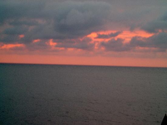 Tensing Pen Resort: amazing sunset