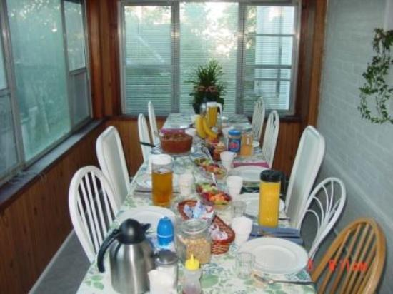 Lakeview Victorian Suite: A Wonderful Breakfast