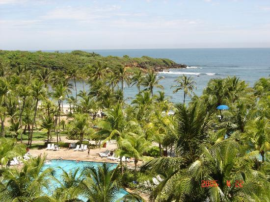 Hyatt Hacienda Del Mar: the view from our room