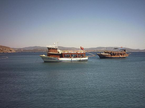 Sunny Garden Ayvan: watch the boats go by or take a trip on one yourself,great fun