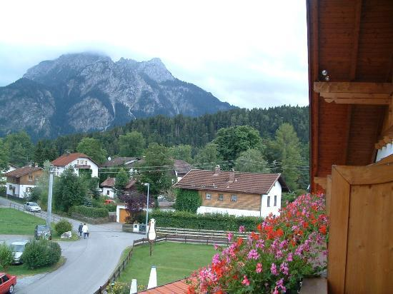 Hotel Helmerhof: View from our fabulous balcony