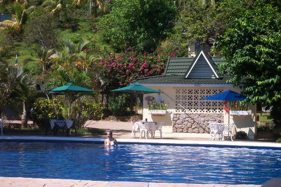 Coco de Mer - Black Parrot Suites: the pool area at Coco de Mer hotel