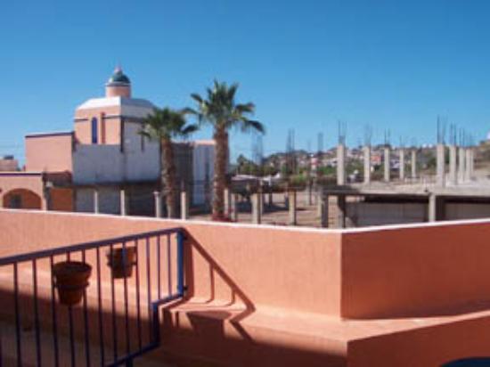 Los Jitos Hotel: View from Los Jitos room patio