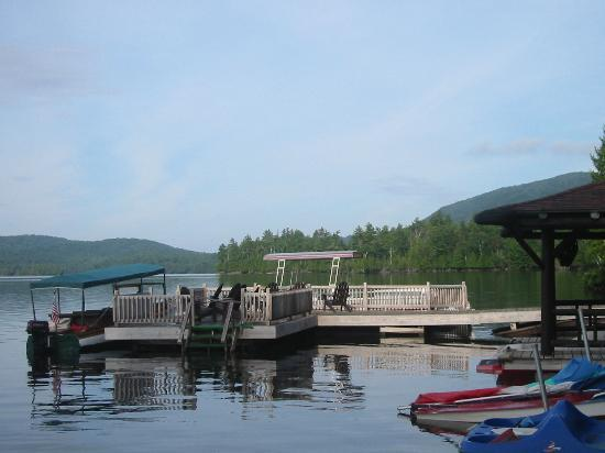 Hemlock Hall: Boat dock