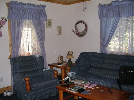 Cozy Bear Cottages: sitting room