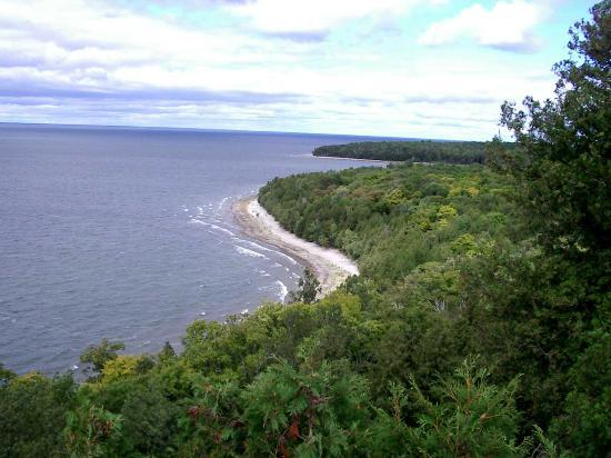 The Eagle Harbor Inn: View from Sven's Bluff, Peninsula Park