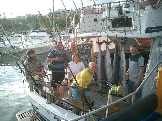 Royal Savoy Hotel: Succesful Fishing trip