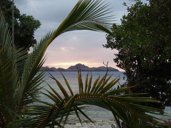 Tokoriki Island Resort : Sunset from Tokoriki