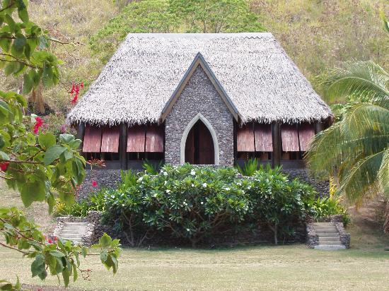 Tokoriki Island Resort: Chapel