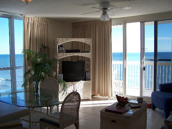 Resorts of Pelican Beach: living area of condo