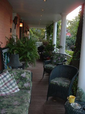 Porches on the Towpath: This is why it's called Porches.