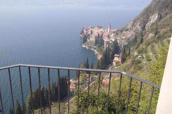 Eremo Gaudio: View of Varenna from Bellagio room!