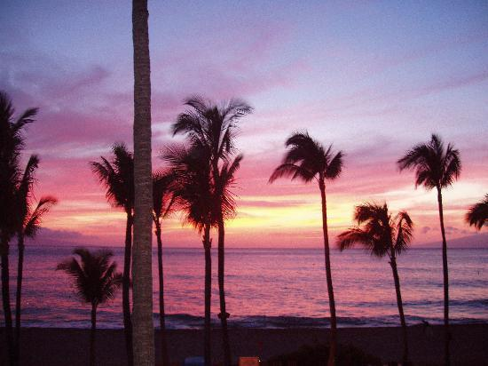 Kaanapali Alii : Sunset from our unit