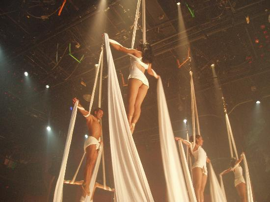 Coco Bongo Cancun: One of many outstanding acts!!