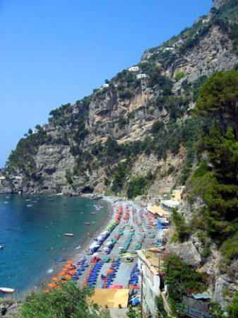 Hotel Posa Posa: Spiaggia del Fornillo