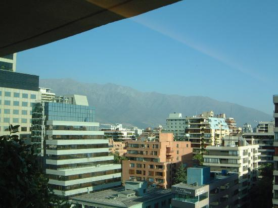 The Ritz-Carlton, Santiago: view from the top