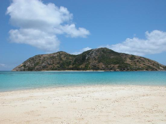 Island beach off of Lizard Island