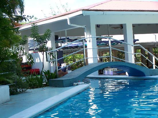 The Tamarind Club: Pool and swim up bar
