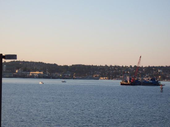 Comfort Inn Port Orchard: View from the balcony