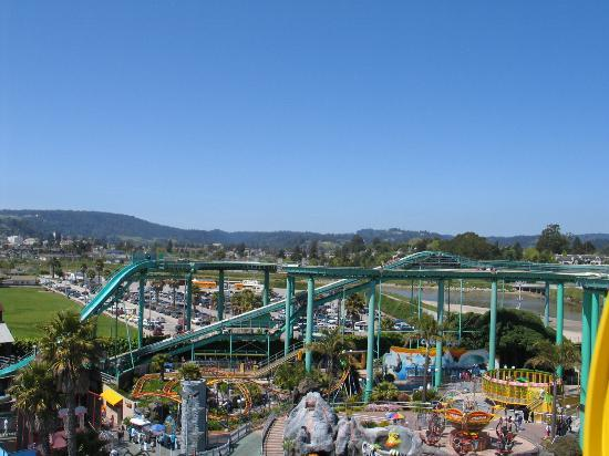 Santa Cruz Beach Boardwalk: View from the Ferris Wheel