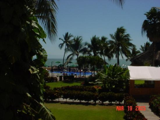 Royal Decameron Complex: The view from a room.