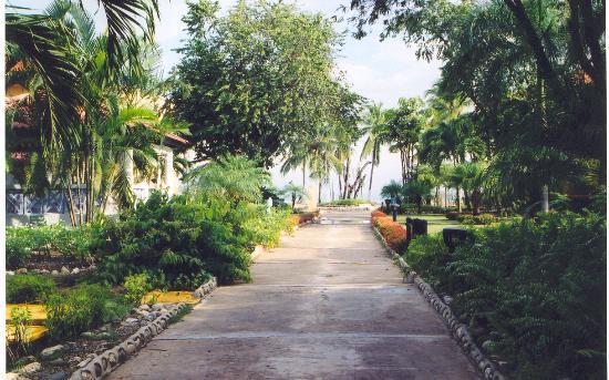 Hotel Beach House Playa Dorada : The walk to the resort beachfront