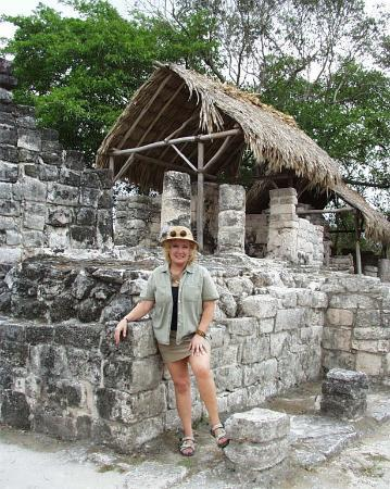 San Gervasio Mayan Archaeological Site Photo