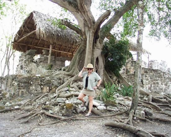 San Gervasio Mayan Archaeological Site: Feeling like Mrs. Indiana Jones