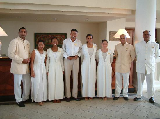 The Residence Mauritius: the very friendly staff