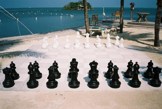 Banana Bay Resort and Marina Marathon: Giant chess, anyone?