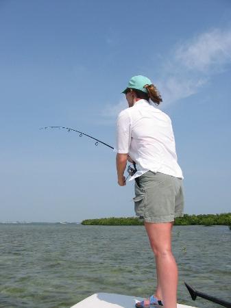 Banana Bay Resort and Marina Marathon: Flats fishing