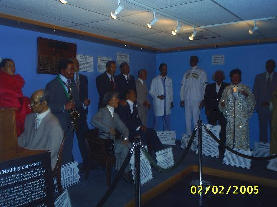 Great Blacks in Wax Museum