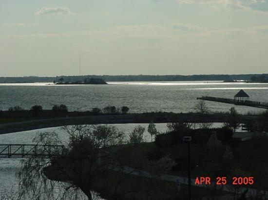Holiday Inn Express Ocean City: View of the bay from our room