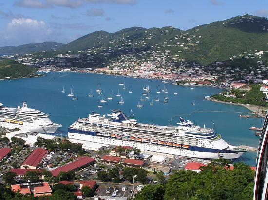 Overlooking Charlotte Amalie Harbor