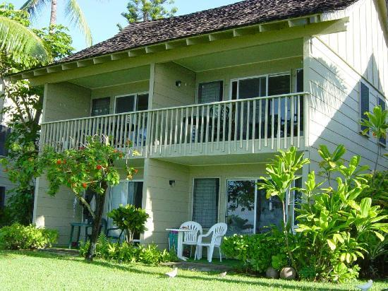 Kapaa Sands: Back of the condo that faces the ocean