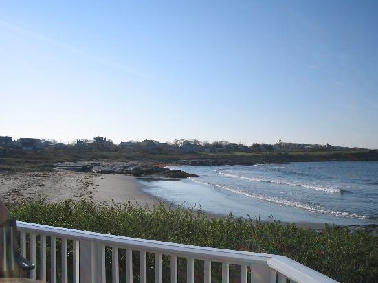 Castle Hill Inn: Beach view