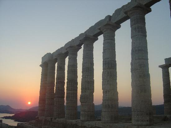 Cape Sounion at Sunset, 2