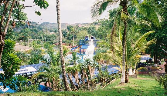 Las Cumbres, Panama/Panamá: The Water Park in the Jungle