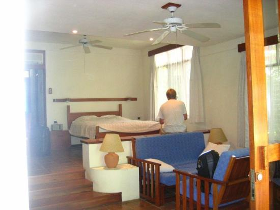 Hotel Capitan Suizo Beach Front Hotel Boutique : Our room