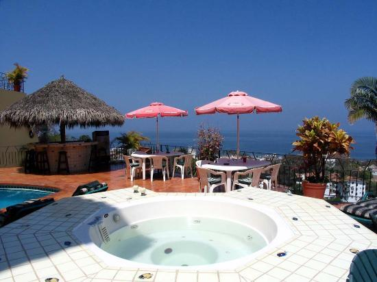Casa Isabel: View from Whirlpool