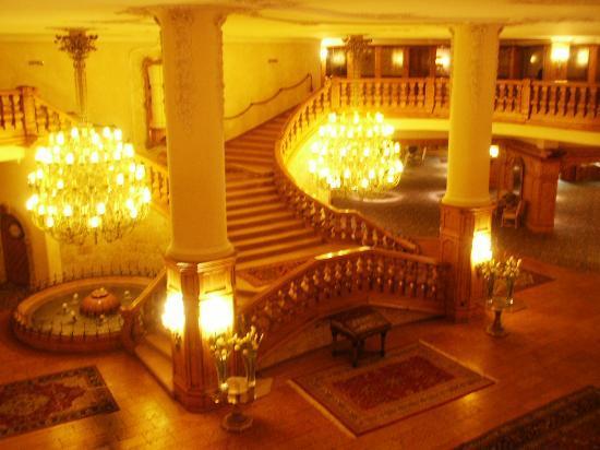Interalpen-Hotel Tyrol : lobby