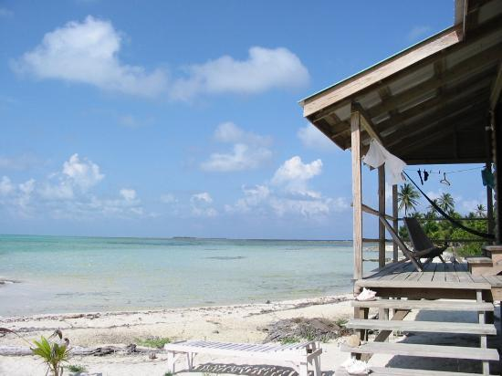 Glovers Reef Atoll, Μπελίζ: One of the cabanas