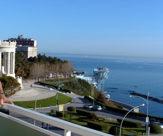 view from our room foto di grand hotel passetto ancona tripadvisor. Black Bedroom Furniture Sets. Home Design Ideas