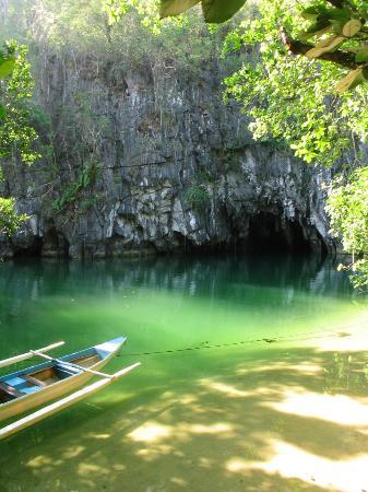 Puerto Princesa, Filippijnen: The entrance to the underground river