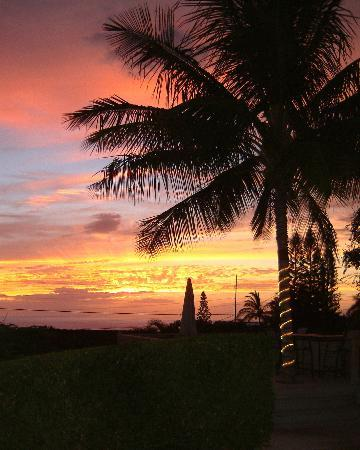 Dreams Come True on Maui Bed and Breakfast: Sunset from Dreams come True