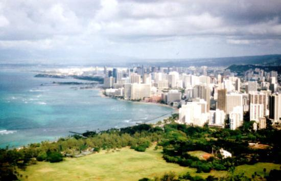 Honolulu, HI: View from the Top of Diamond Head