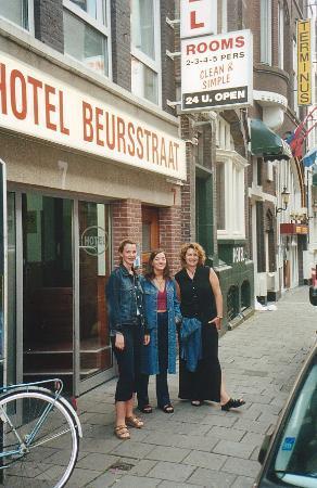 Hotel Beursstraat: entrance