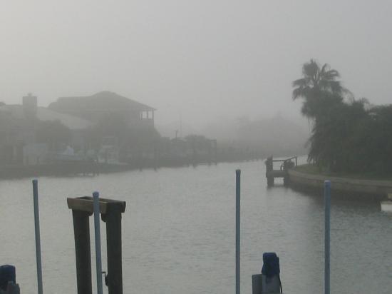Port Aransas, TX: The Morning Sea Fog