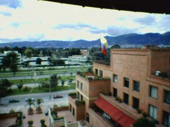 GHL Hotel Capital: View from the hotel to Eldorado Avenue